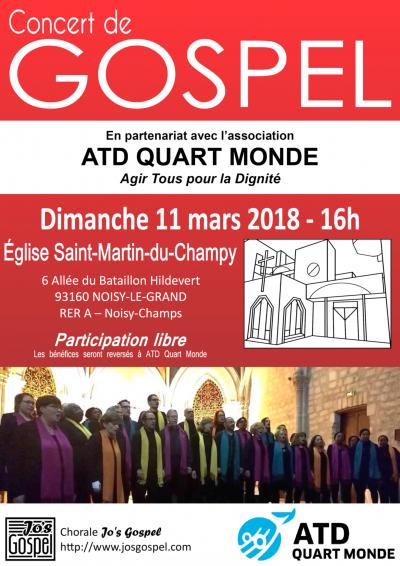 Jo's Gospel concert - Saint-Martin du Champy