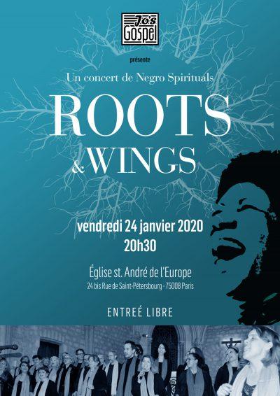 Jo's Gospel concert - Eglise Saint André de l'Europe