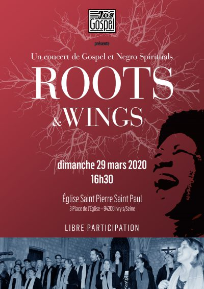 Jo's Gospel concert - Ivry - Eglise Saint Pierre Saint Paul